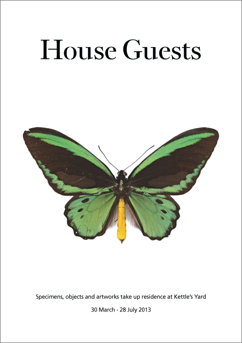 House Guests A5 leaflet cover
