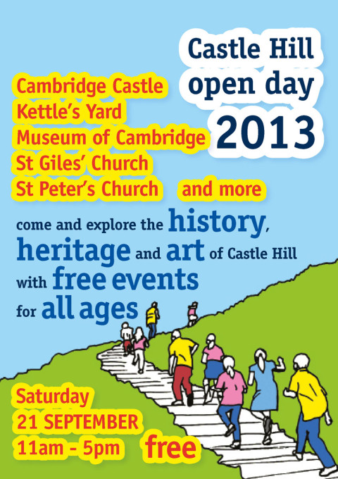 Castle Hill Open Day A5 flier
