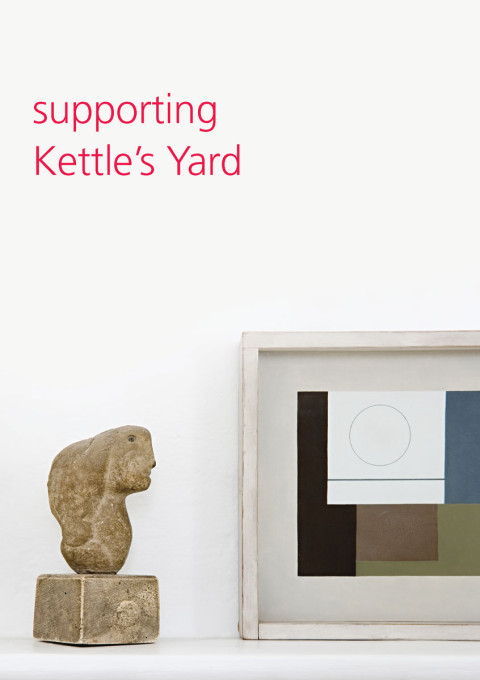 Supporting Kettle's Yard leaflet cover