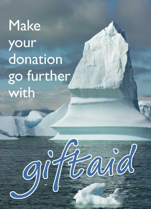 The Polar Museum Gift Aid Envelope