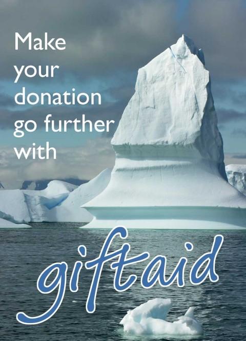 The Polar Museum Gift Aid Envelope