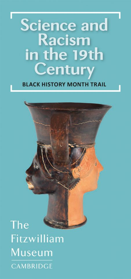 Cover of BHM leaflet, Fitzwilliam Museum side