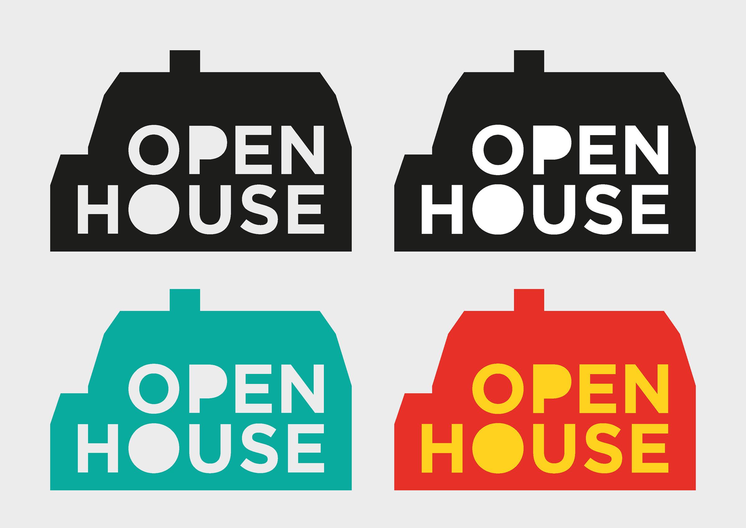 Open House LOGO variations 1