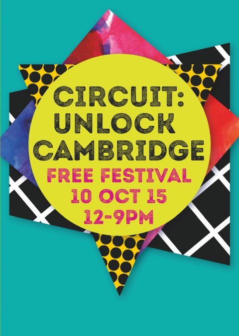 circuit.unlock.cambridge 5 page folding leaflet covere
